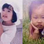 Can you guess which MAMAMOO members these baby pictures belong to? https://t.co/n9N4vlCPeu https://t.co/FJzXHfOzT0