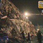 【台湾南部でM6.4の地震 ビル崩れる被害】6日未明、台湾の南部を震源とするマグニチュード6.4の地震があり、南部の台南市でビルが崩れるなどの被害が出ています。https://t.co/7dbtxuqchD https://t.co/1jsb3Ty156