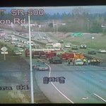 Vancouver - WB SR500/Stapleton RD BLOCKING Crash! Expect delays! https://t.co/vyKpApvCIg