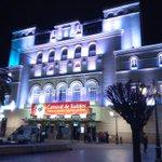 El Teatro Lopez de Ayala de Badajoz más bonito que nunca!!! #Carnaval2016 #carnavalCEX https://t.co/YJkSSE2tCH