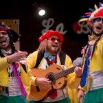 #comba2016 @YoNoSalgo hoy es viernes y tengo la suerte de que soy de #Badajoz cantan en su popurrí #carnaval https://t.co/YylPAG1oG6