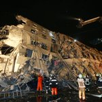 Rescue workers in Taiwan responding after 6.4 magnitude earthquake topples buildings in… https://t.co/Y2JpV1RxiW https://t.co/RLTYYOLfvl