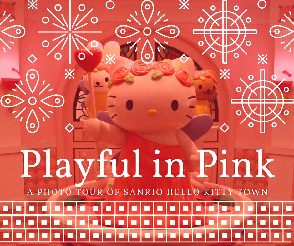 What�s going to keep you busy at Sanrio Hello Kitty Town? Plenty.