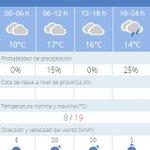 #EmergenciasSev | Un día con nubes en #Sevilla nos deja temperaturas entre 8ºC y 19ºC Que pases buen día https://t.co/VvolAgPCCX