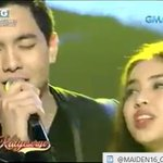 "THAT ANSERA CLIPS WHILE ALDEN SINGING ""TULOY PA RIN ANG AWIT"" WITH MAINE. :"") #ALDUBYouGoodbye © @maiden16_Canada https://t.co/5jIJwieB4b"