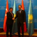 Genel Başkanımız ve Başbakanımız Ahmet Davutoğlu Başbakan Karim Masimov ile görüştü. https://t.co/ACr6jVYL7X https://t.co/pLR2vrWEHl