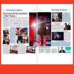 Bienvenue au cœur de la machine #TheVoice ! Un super reportage du @le_Parisien dans les coulisses de lémission https://t.co/7KOt4zmZv0