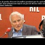 """""""Je refuse de parler d'accent circonflexe pendant que les agriculteurs se suicident"""" Jean d'Ormesson https://t.co/aDa1TT9Kmx"""