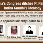 In a brazen attempt to appease the minorities, #AntiDalitCongress denied them constitutional reservation in AMU.. https://t.co/TaVhzdImAg
