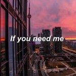 Im here If you need me  ฉันยังอยู่ตรงนี้นะ ถ้าเกิดเธอต้องการฉัน. https://t.co/51v5GYlQUi