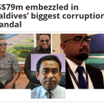 US$79m embezzled in #Maldives biggest corruption scandal https://t.co/L0NmZz59ZY V @IndependentMv #CorruptionYageen https://t.co/UqhVrRGlZU
