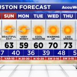Good morning! Heres your forecast from #ABC13. #Houston #TXwx https://t.co/yaCPLb4KoP