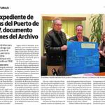 El Archivo Histórico expone un expediente del Puerto de 1907. #Almeria cc @AlfredoVAyala @ideal_almeria https://t.co/sYGq8m5SY9