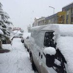 #ankara da kar kalınlığı an itibari ile 10cm. ???????????????????? https://t.co/3nXNjAGNRZ