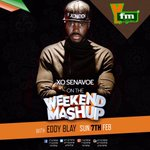 The bosser @XO_Senavoe on the #WeekendMashUp with @eddyblayjr tomorrow on @Y1079FM. Be sure to tune in! #XONATION https://t.co/3dVx1bJ0Dl