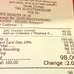 Texas Chicken เปิดที่สยามแล้ว บัตรนักเรียน-นักศึกษาลด 10%(หมดอายุก็ใช้ได้ ลองละ) ทั้งชุด 98 บาท โค้กรีฟิล คุ้ม https://t.co/YtNZFCJucn