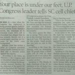 Buddhu makes dalit leader carry his shoes,congress throws SC cell chief out & BJP is anti dalit #AntiDalitCongress https://t.co/12YP1Y6kLy