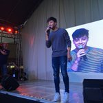 Crowd goes wild as Daniel Padilla steps up on stage!!! #PSYThanksgivingTour #12DaysOfPSY https://t.co/0oZX5fU8q8