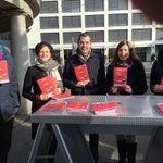 Gegen die #Durchsetzungsinitiative am Kreuzplatz @fdp_zh @FDP_Liberalen https://t.co/DAJfMANwov