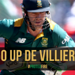 Well done De Villiers with his 48th ODI 50. SA 157/3 in 34 overs. Duminy has 31* #MomentumODI #SAvENG #ProteaFire https://t.co/nPB14pWLKy