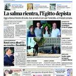 #GiulioRegeni La #primapagina de @il_piccolo edizioni #Trieste #Gorizia #Monfalcone #fvg https://t.co/MKEJzh89yk https://t.co/MWFfroPevB