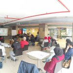 Social media training session by @Shusmo at @EliaNuqulFDN. #ENF_iLead #Nuqul #Amman #Jordan. https://t.co/ob7COpwMcx