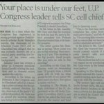 Chairman of cong SC cell was thrown out of party meeting just bcz of his lower caste background #AntiDalitCongress https://t.co/Kew9PrSImS