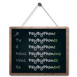 #ReformeOrthographe un nouveau verbe prévu pour payer son stationnement ! #paybyphone https://t.co/gc5B4oOIad https://t.co/TJj0HoCtMV