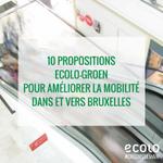 Nos 10 propositions Ecolo-Groen pour la mobilité dans et vers Bruxelles ! #créonsdemain - https://t.co/XflGG1zZkm https://t.co/0m7qI3DMYe