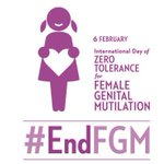 6 February is International Day of Zero Tolerance for Female Genital Mutilation. It's time to #EndFGM. https://t.co/st2Xc0EoPp