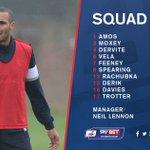 Neil Lennon has named the following 20-man squad for todays game against @OfficialRUFC. #BOLvROT #BWFC https://t.co/iBpKviv80U