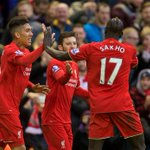 Roberto Firmino heads in and then celebrates #LFCs opening goal against @SunderlandAFC https://t.co/JC0GT3CZRN