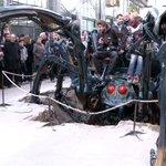 Réouverture des Machines de lIle #Nantes : la veuve noire attire la foule. https://t.co/qQ3K9t5j8B https://t.co/SFRZe3jQGz