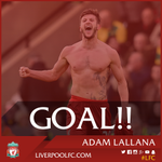 70: Firmino wins the ball back for #LFC, speeds into the area and cuts it back for Lallana to tap in! (2-0) https://t.co/70EQNtobz7