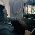 في أحلى من هيك رفقة ممتعة على متن الطائرة؟ هيك مرق الوقت بطريقة حلوة مع فيلم #سوء_تفاهم والرائعة @CyrineAbdlNour https://t.co/cdMGtQeNfX