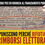 #M5S VIDEO Multa al #M5S per aver rifiutato i rimborsi elettorali https://t.co/2KeSDI0YOD https://t.co/ICjpixM3eT