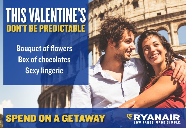 Spice it up this Valentine's Day. Book a trip abroad with YOUR loved one!
