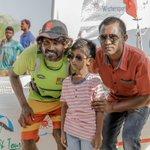Our sailor Gabbe received a warm welcome at GA. Viligilli. Photo by Ramon Photography / Atoll Sailor #Maldives https://t.co/pRDBbNMqpc