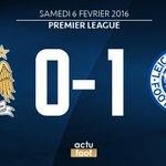 ???? MI-TEMPS ! Man. City 0-1 Leicester https://t.co/2S7Jnbd0HB