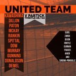 GRAPHIC: TEAM NEWS | United team and subs today | #WeAreUnited https://t.co/X0ulZy0HzR