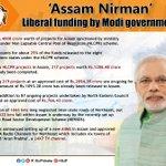 Assam Nirman: Liberal funding by Modi government has ushered in a new era of development in Assam. https://t.co/Djhgl94nAS