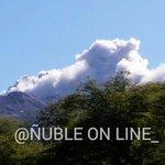 Ultimo minuto #Chillán: Volcán en actividad de Pulso de Cenizas y algo de vapor.Noticia del instante.(11:02) https://t.co/dCkMXdDJjh