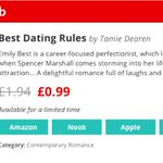 https://t.co/vuF486jWsu #UK £0.99! Limited time! Get Best Dating Rules on #BookBub! @BookBubRomance  #CR4U #ASMSG https://t.co/clpwur3aot
