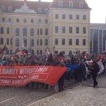 Демонстранты в Дрездене требуют отставки Меркель. В сети появились кадры с места события https://t.co/0nePqcwVmj https://t.co/aOB01AHrt4