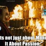 """#LiveBolanet Ini pesan dari Joker: AGAINST MODERN FOOTBALL.  """"Ini bukan sekedar soal uang, ini tentang passion."""" https://t.co/Nn2VGRNHcl"""