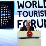 Dünya Turizm Forumunun kapanışı Cumhurbaşkanımız Sayın Recep Tayyip Erdoğan tarafından gerçekleştirildi https://t.co/jmavt5Ysd7