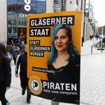 #STUTTGART Königsstraße - unsere Plakate hängen. #PIRATEN https://t.co/so3yciiv7N