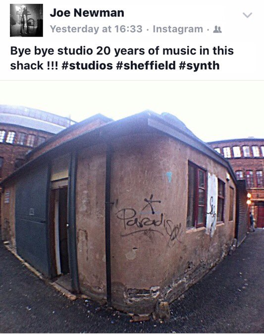 Sad to see this get knocked down.if u ever heard any music from Sheff it was probably recorded here.theoriginal 2fly https://t.co/SQUuNC15Lf