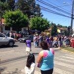 vía @jorge30a7 #Osorno Protesta en Ovejeria por alta velocidad de conductores https://t.co/Oq1PujLgdh