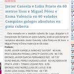 El campeón gallego de velocidad en pista cubierta es un atleta Santiagues @atletismogalego @decompostela https://t.co/XvHlIyeRRj